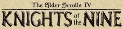 Elder Scrolls IV: Knight of the nine